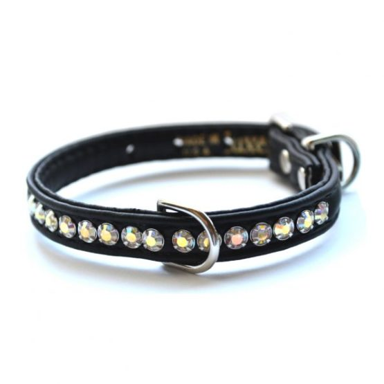 Rhinestone & Diamante Dog Collars