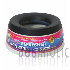 Dogaholic Road Refresher Bowl Grey