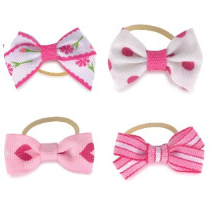 Pretty in Pink Hair Clips Pack/8