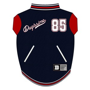 Baseball Sweat for Boston Terriers - Navy