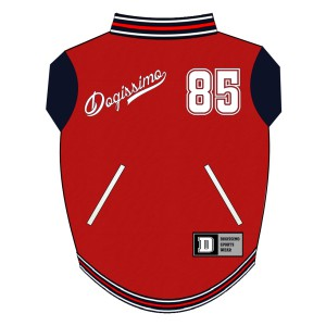 Baseball Sweat for Boston Terriers - Red