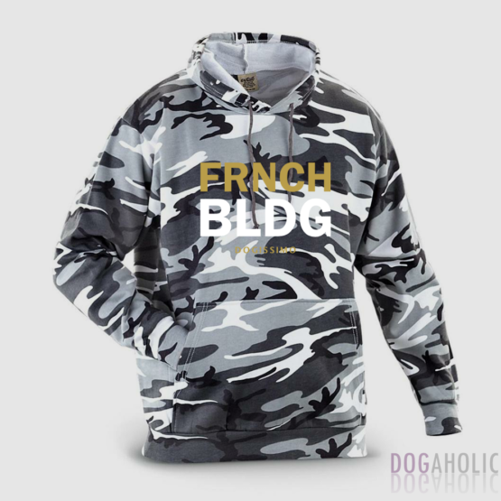 Dogissimo FRNCH BLDG Hoodie Human