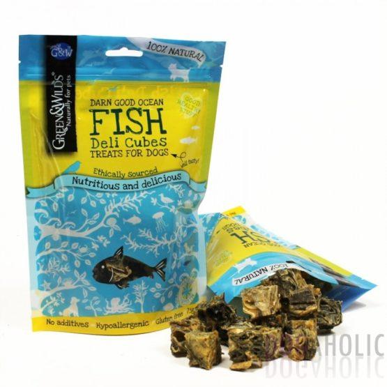 Green Wilds Fish Cubes