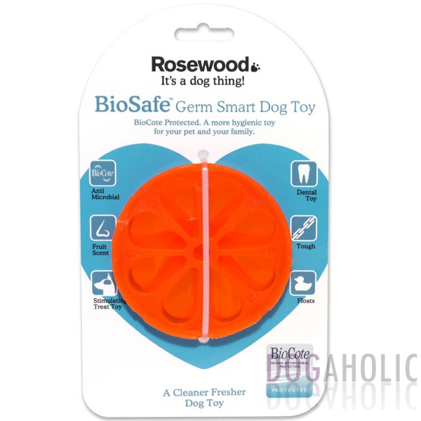 Orange Biosafe Toy
