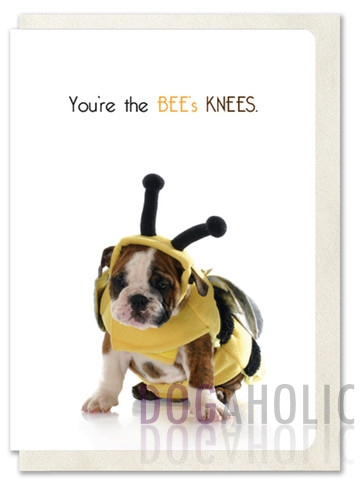 The Bee's Knees Greetings Card