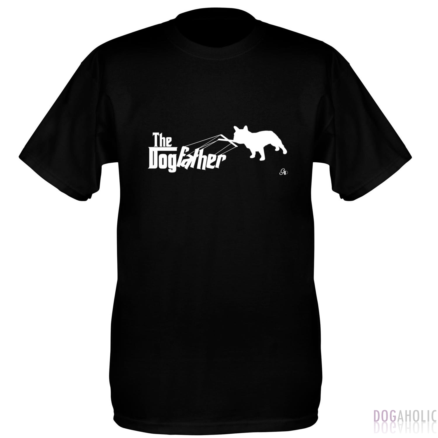 DogFather Men's T-Shirt in Black