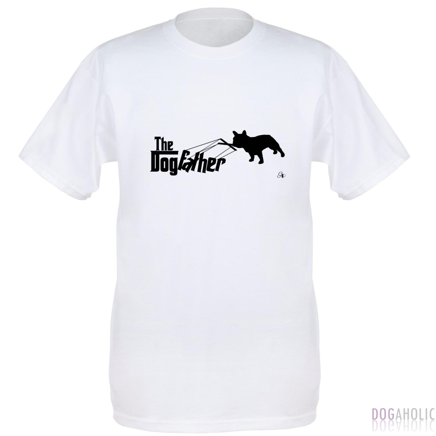 DogFather Men's T-Shirt in White