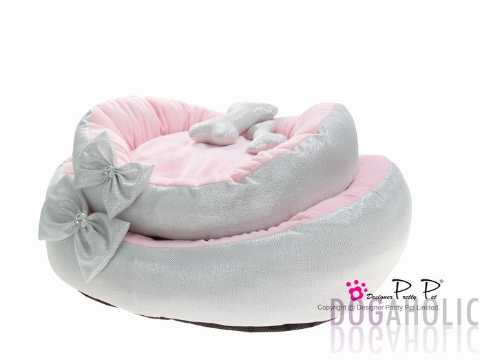 Pretty Pet Bling Bling Bed in Silver