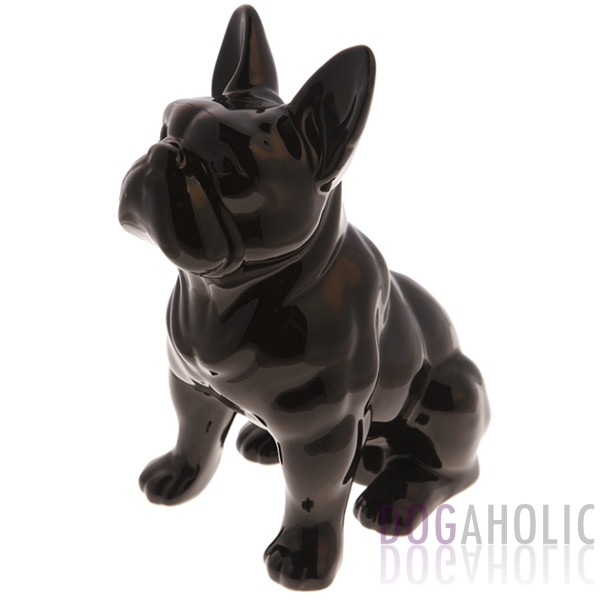 French Bulldog Money Box - Black