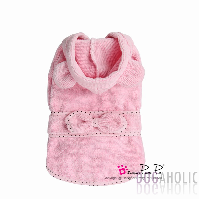 Pretty Pet Bunny Bathrobe in Pink