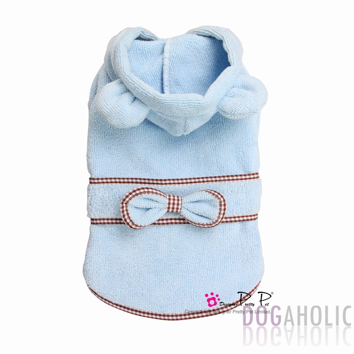 Pretty Pet Bunny Bathrobe in Blue