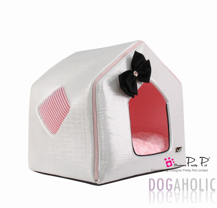 Pretty Pet Bling Bling House in Silver