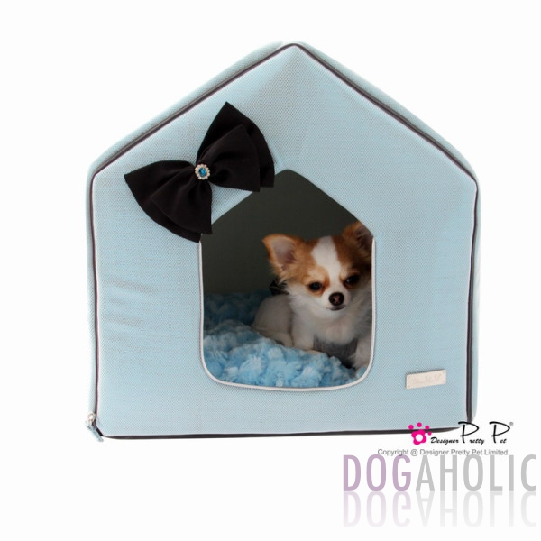 Pretty Pet Bling Bling House in Blue