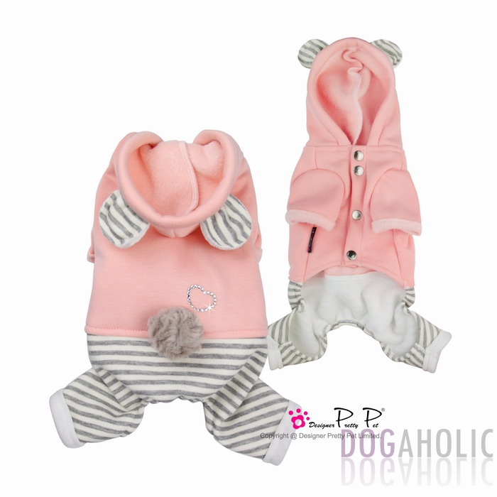Pretty Pet Bear Jumpsuit in Pink