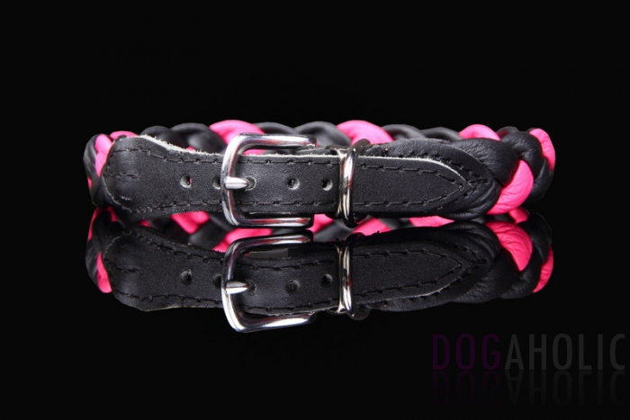 Super Soft Plaited Leather Collar