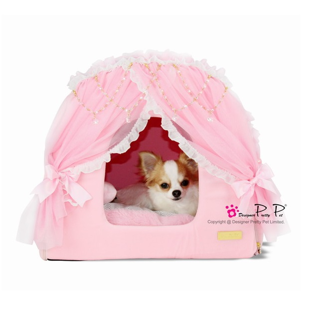 chihuahua dog houses pretty pet princess house in pink dogaholic 7389