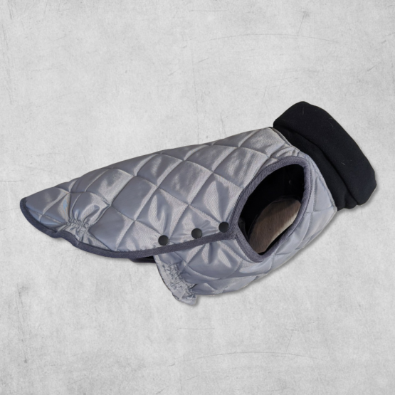 2020 Monaco Coat for French Bulldogs - Grey