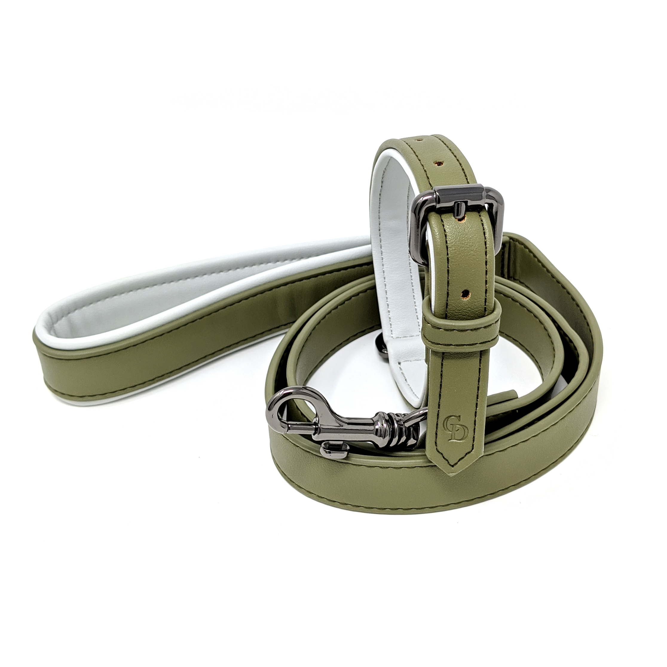CatwalkDog Cambridge Collar in Olive