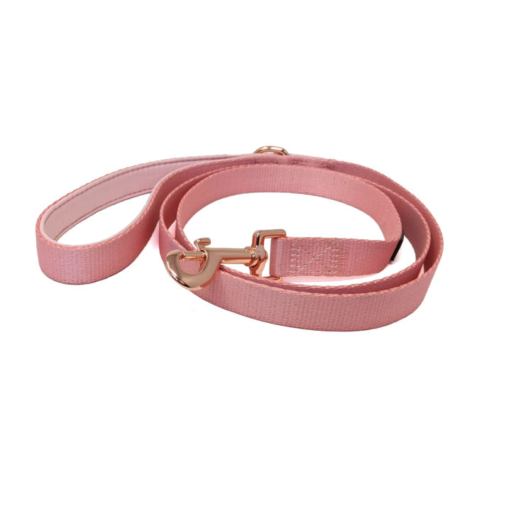 CatwalkDog Pink and Rose Gold Lead
